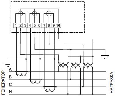 Рисунок Б.6 - Схема включения