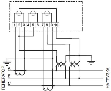 Рисунок Б.7 - Схема включения