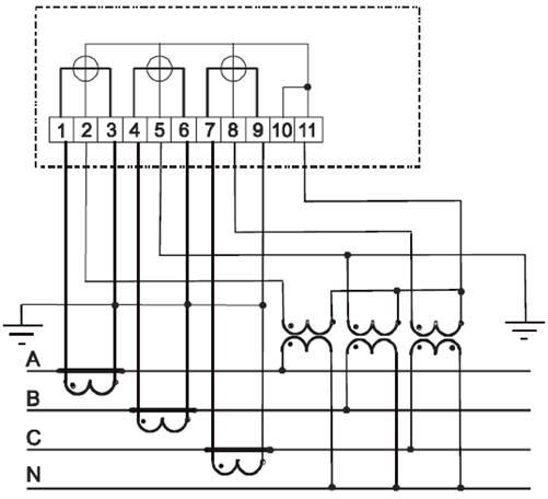 Рисунок Б.1 – Схема включения