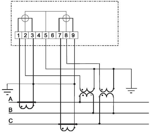 Рисунок Б.3 – Схема включения
