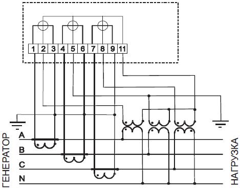 Рисунок Б.2 – Схема включения