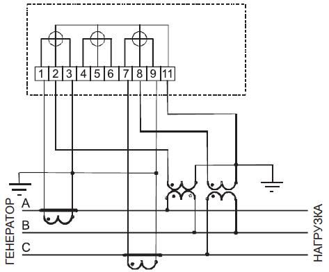 Рисунок Б.4 – Схема включения