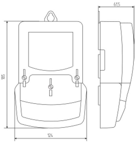 размеры счетчика СЕ 200 S6