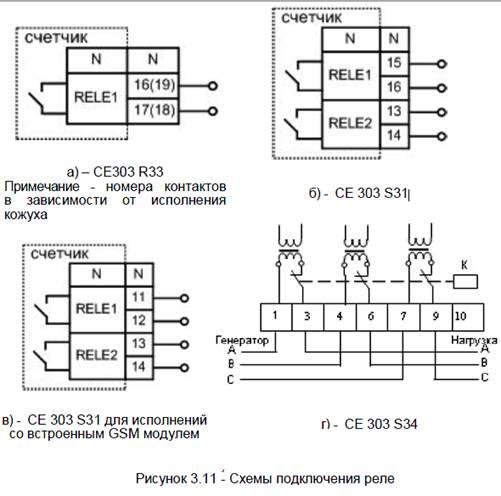 принципиальная электрическая схема энергомера цэ6827м