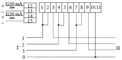 Ф68700в схема счетчика