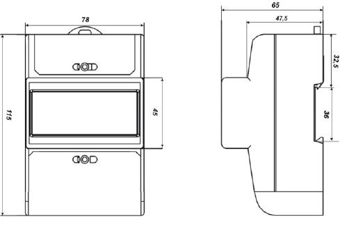 Схема установки электросчетчика нева 103 4
