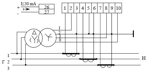 Трехэлементная схема включения счетчика фото 489