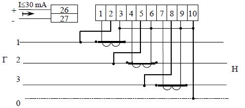 Счётчик цэ6803в схема