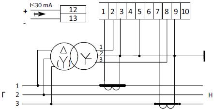 Схема подключения счетчика цэ6803в фото 91