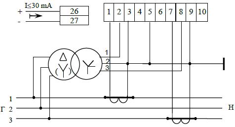 счетчика ЦЭ6803ВМ 100В 1-7
