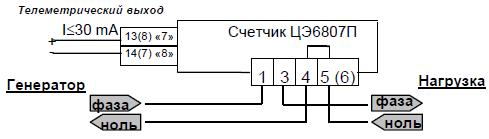 Все схемы подключения счетчиков энергомера