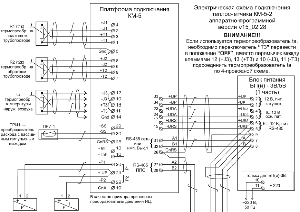 интерфейса RS-485/RS-232
