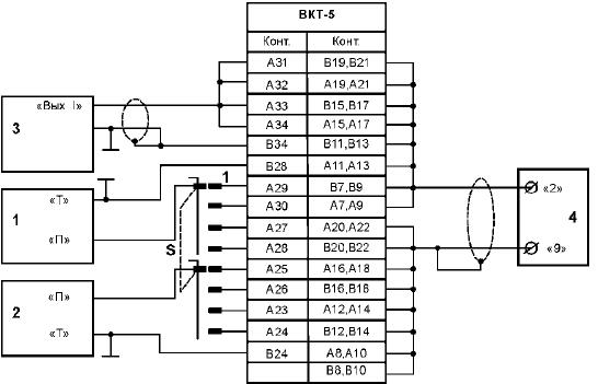 Схема поверки с использованием