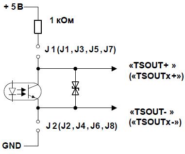 схема подключения ПД